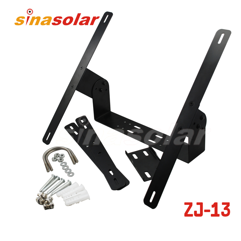 Adjustable Solar Panel Wall And Pole Mounting Bracket System
