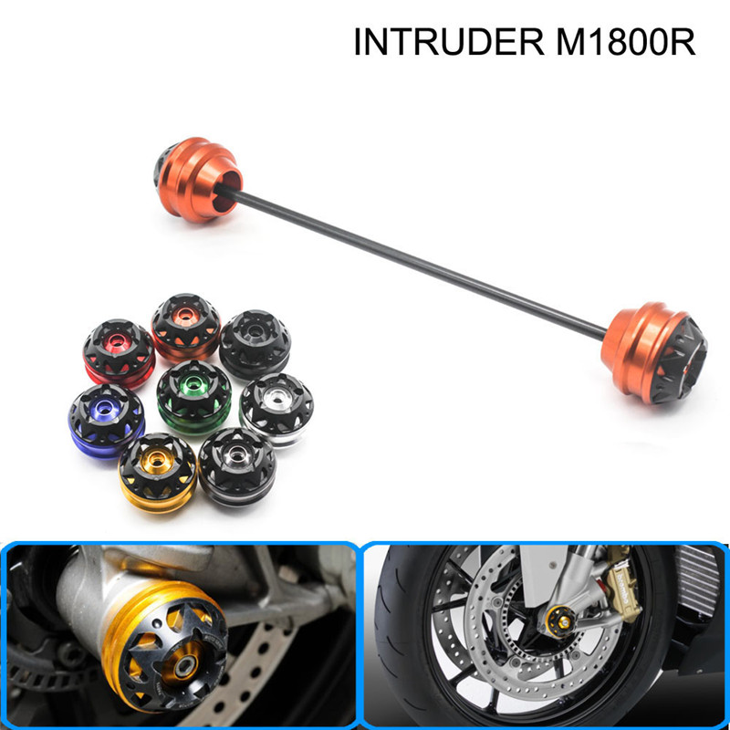 free delivery for SUZUKI INTRUDER M1800R 2006-2015 CNC Modified Motorcycle Front wheel drop ball / shock absorber free delivery 811600 4623