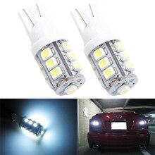 20pcs T10 Hotsale!! 168 194 1210 3528 Car Side Wedge Light White 13 SMD LED DC12V Inside Reading Interior Led Lamp