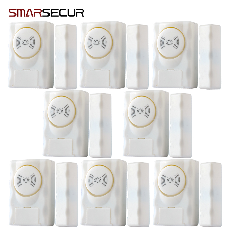 Wireless Home Security Door Window Alarm warning System Magnetic Door Sensor