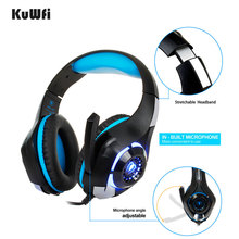 Professional 3.5mm Gaming Headphone for pc ps4 play station 4 laptop phone Xbox One Headset with microphone Gaming Headset все цены