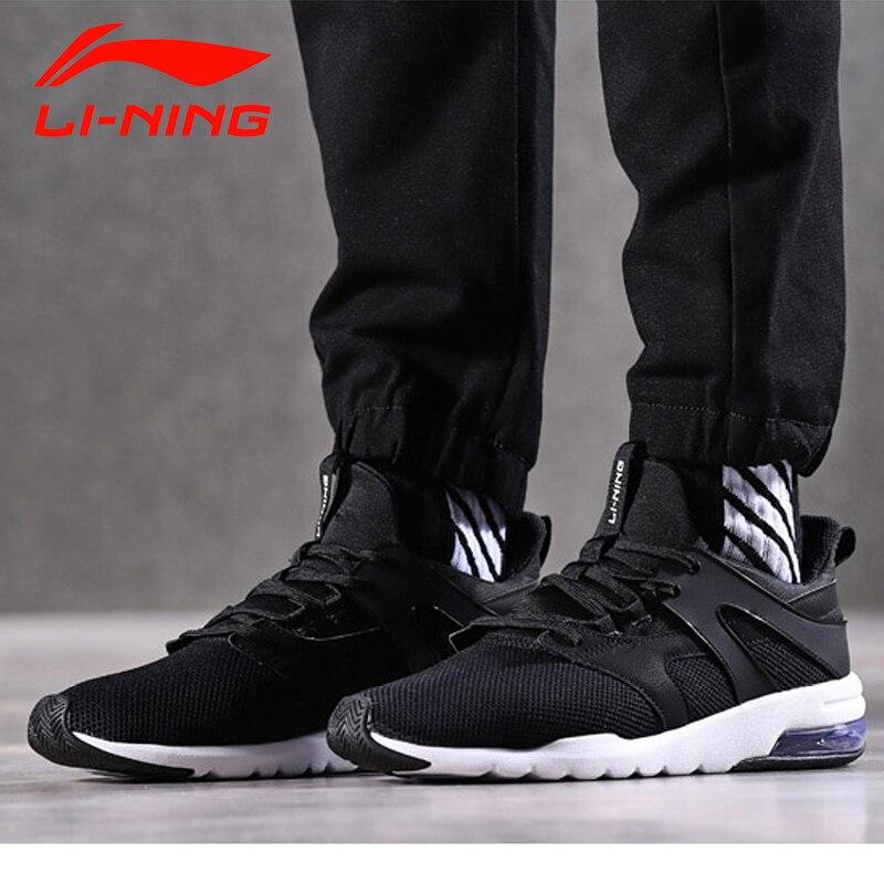Li-ning hommes bulle UP-FOCUS classique style de vie chaussures portable coussin doublure baskets TPU soutien chaussures de Sport AGCN007 YXB129 - 3