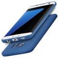 360-степень защиты ударопрочного ТПУ кремния Скраб Задняя Крышка Чехол для Samsung Galaxy S7 edge Galaxy S7