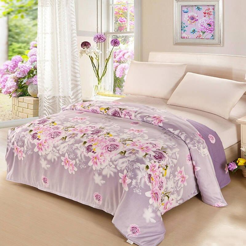 100% coton literie housse de couette feuille taie d'oreiller motif de campagne plantes fleurs literie literie literie produit maison