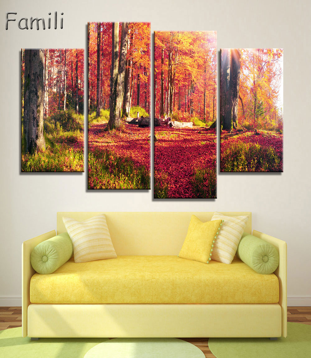 Magnificent Autumn Tree Wall Art Gift - Wall Art Collections ...