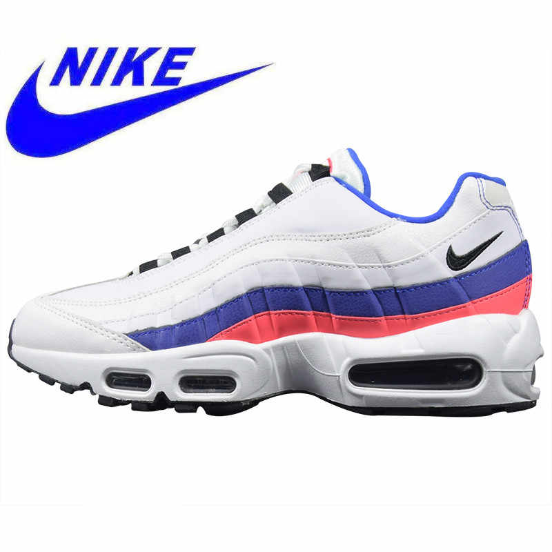 half off 8c940 c086b Original Nike Air Max 95 TT Men s and Women s Running Shoes, White, Outdoor  Sports