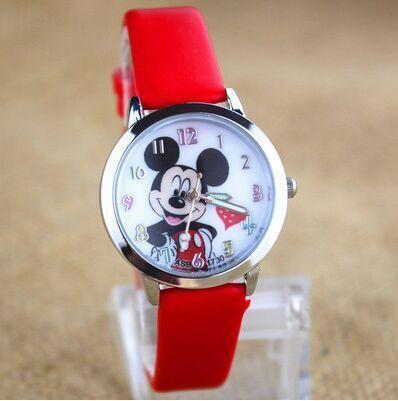 New Fashion Delicate transparent hollow dial leather strap wristwatches quartz w