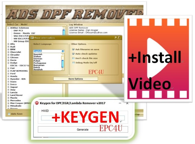 US $6 65 5% OFF|DPF EGR Lambda Remover [05 2017] software + keygen+INSTALL  video guide on Aliexpress com | Alibaba Group