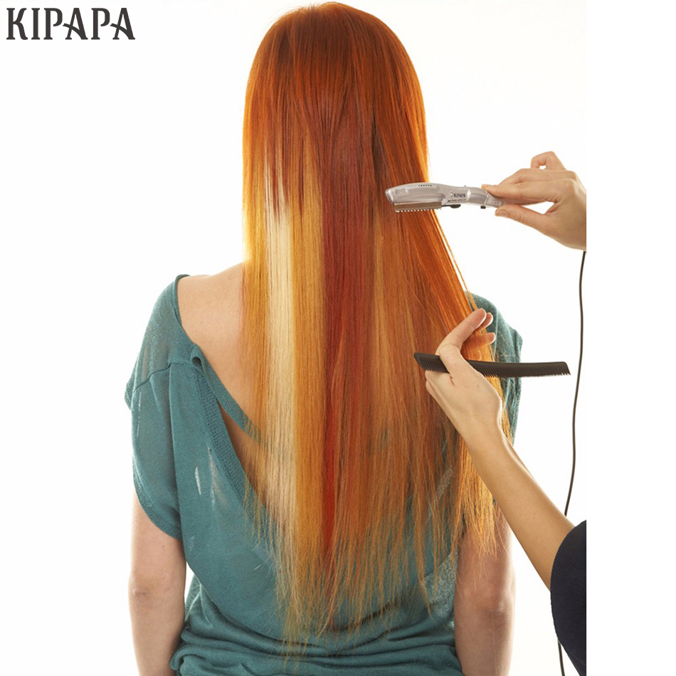 Ultrasonic Hot Vibrating Razor Heated Vibrating Hot Razor For Hair Cut Styling Avoid Split Ends