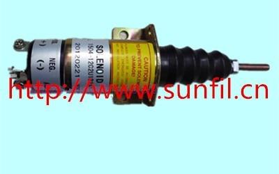 Fuel Shutdown solenoid 1504-12 1504-12C2U1B1S1 (12V 3 terminals)
