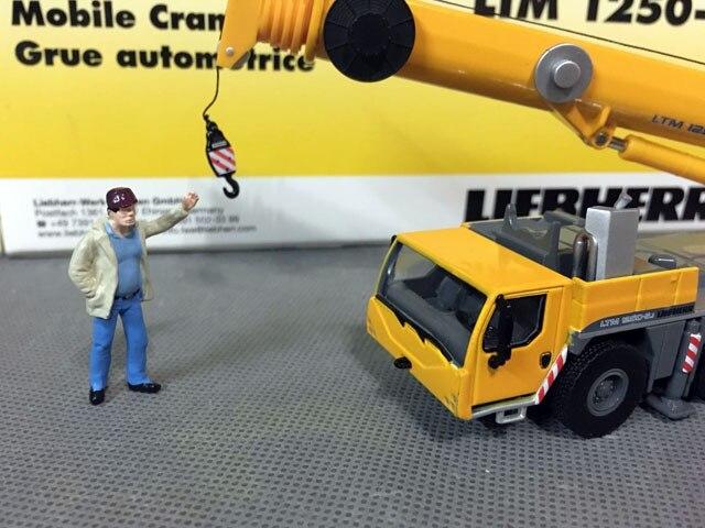 Tonkin Liebherr LTM 1250-5.1 Mobilkran Mobile Crane 1:87 DieCast 31-0003 Rare