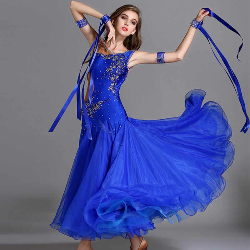 cf63bc343f49c43 10 видов цветов пайетки бальных танцев платья бальных танцев конкурс платья  Стандартный Танцы платье бальные платье