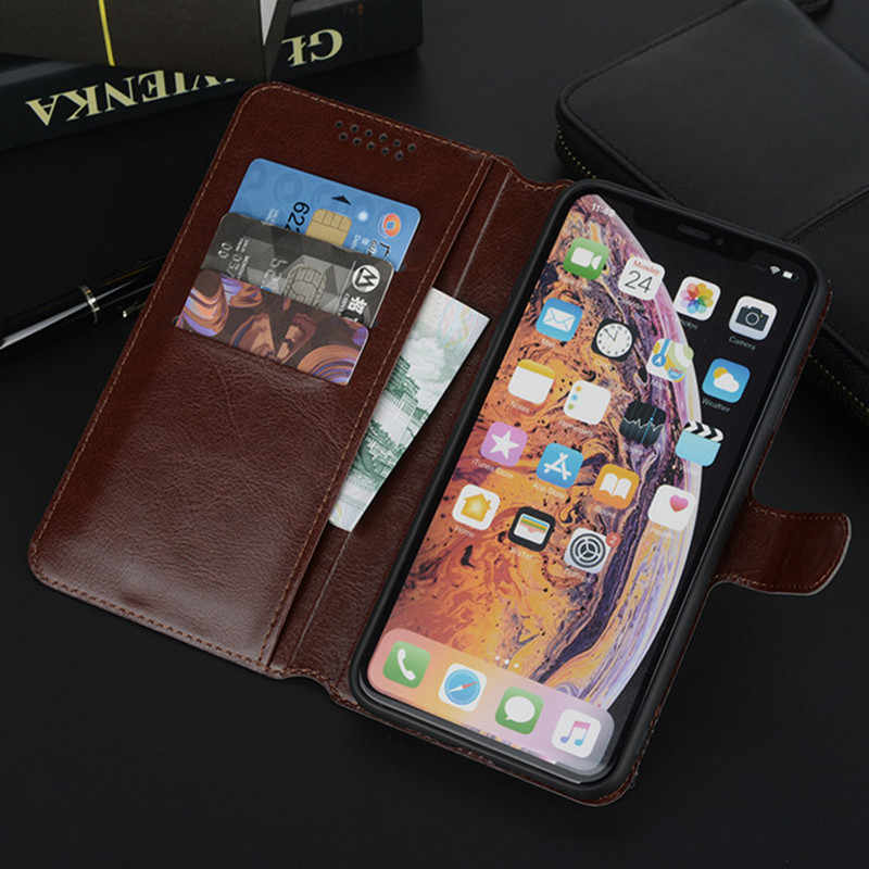 Case for Alcatel 1 1C 1X 1S 2018 2019 5033D 5009A 5059X 5008Y 5003 Wallet Flip PU Leather Phone Bag Cases Soft Silicone Cover
