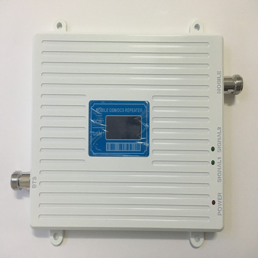 Dual Band GSM 4G Repater GSM DCS Cellular Signal Booster 2G GSM 900mhz DCS 1800mhz Mobile Phone Signal Repeater Amplifier