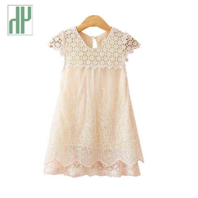 Sommerkleid mädchen Neue mädchen spitzenkleid Kinder Hohl heraus Baby  mädchen kleider für partei und hochzeit O