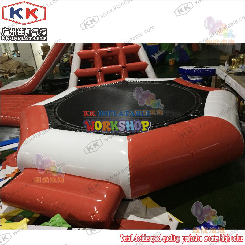 Water Land Inflatable Trampoline,Water Park Toys Package For Sale