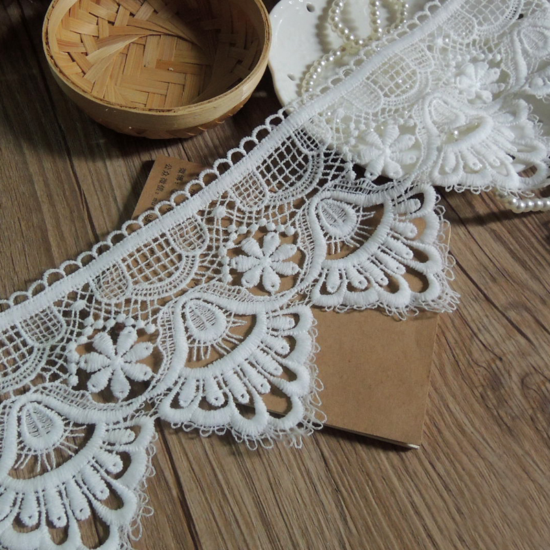 Decorative Tablecloth Tablecloth Diy Curtain Width 11cm Ys0223 Reputation First Custom Made White Water-soluble Lace Accessories The Cheapest Price 5 Yards