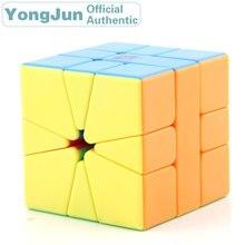 YongJun YuLong SQ-1 Magic Cube YJ Square 1 SQ1 Professional Neo Speed Puzzle Antistress Fidget Educational Toys For Children цена 2017