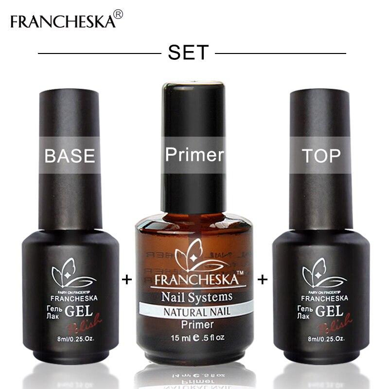 francheska base top coat,nail primer