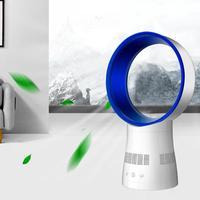 12 дюймов удаленного Управление поклонник Bladeless бесшумный таймер Настольный вентилятор вентиляции вентилятор 360 градусов Поворотный воздуш