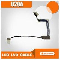 Para Asus U20A S20 U20A panel de la Pantalla Pantalla línea fan altavoz disipador de calor tablero de tarjeta de sonido integrada tarjeta de sonido integrada EE. UU. cable