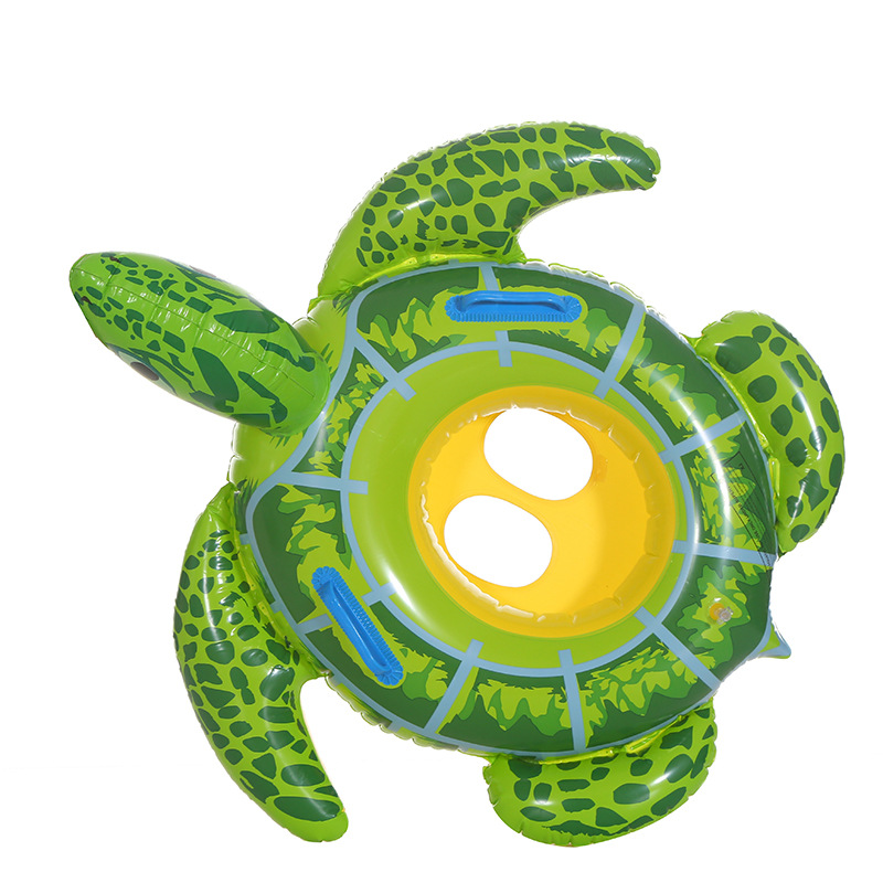 Baby Swimming Ring Inflatable Infant Seat Floating Kids Swim Pool Accessories Circle Tortoise Cute Animals pool (1)