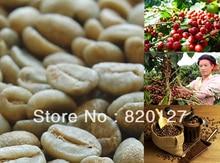 500g High Quality 2013 Fresh China Yunnan Small Arabica AA Green Raw Coffee Beans,Grow On 1800M China YUN NAN MOUNTAIN