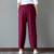 2017 Nova Primavera e Outono de Algodão e Calças De Linho Mulheres Bloomers Soltas Calças Calça Casual Plus Size Do Vintage