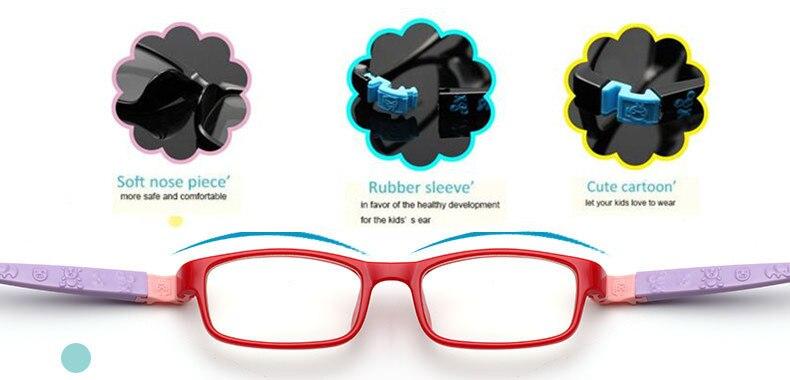 TR Brillenglazen Kinderbrillen Brillen Optische glazen - Kledingaccessoires - Foto 5