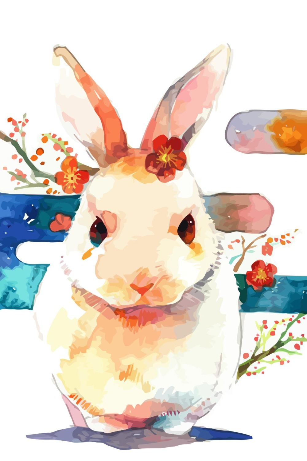 Coloring by numbers for rabbits - Oli Painting Lovely Rabbit Coloring By Numbers On Canvas Diy Hand Painted Christmas Decoracion Cheap Oil