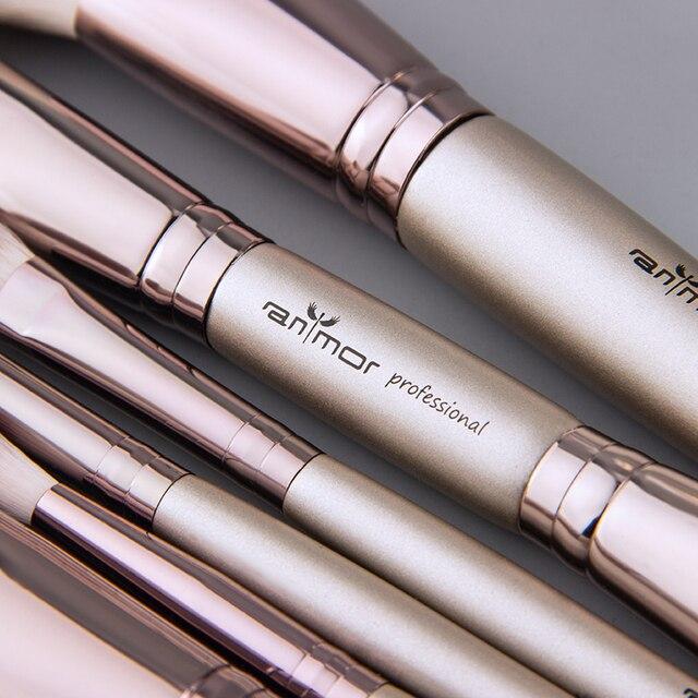 Anmor New Fashionable Brushes Contour Blush Makeup Professional Foundation Eyeshadow Eyebrow Powder Make Up Brush Cosmetic Tools 1