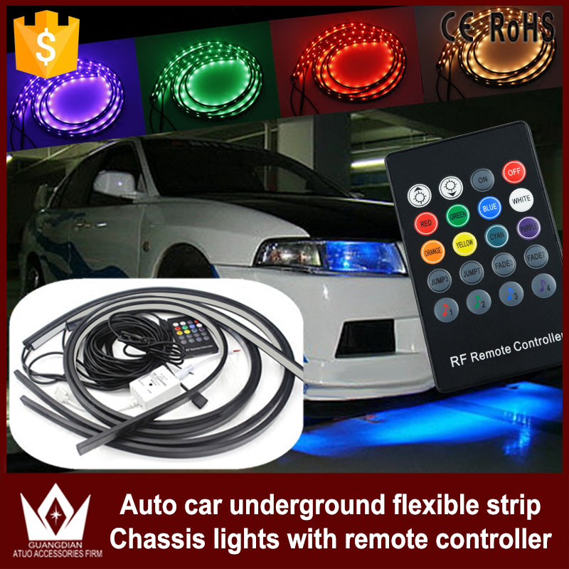 Tcart app control RGB LED For Honda city civic accord Strip Under Car Tube Underbody Underglow