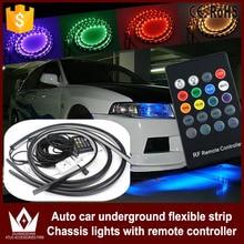Tcart приложение управления RGB LED для Honda City/CIVIC/Accord полосы Под автомобилей Tube днища underglow Системы неон свет дистанционного