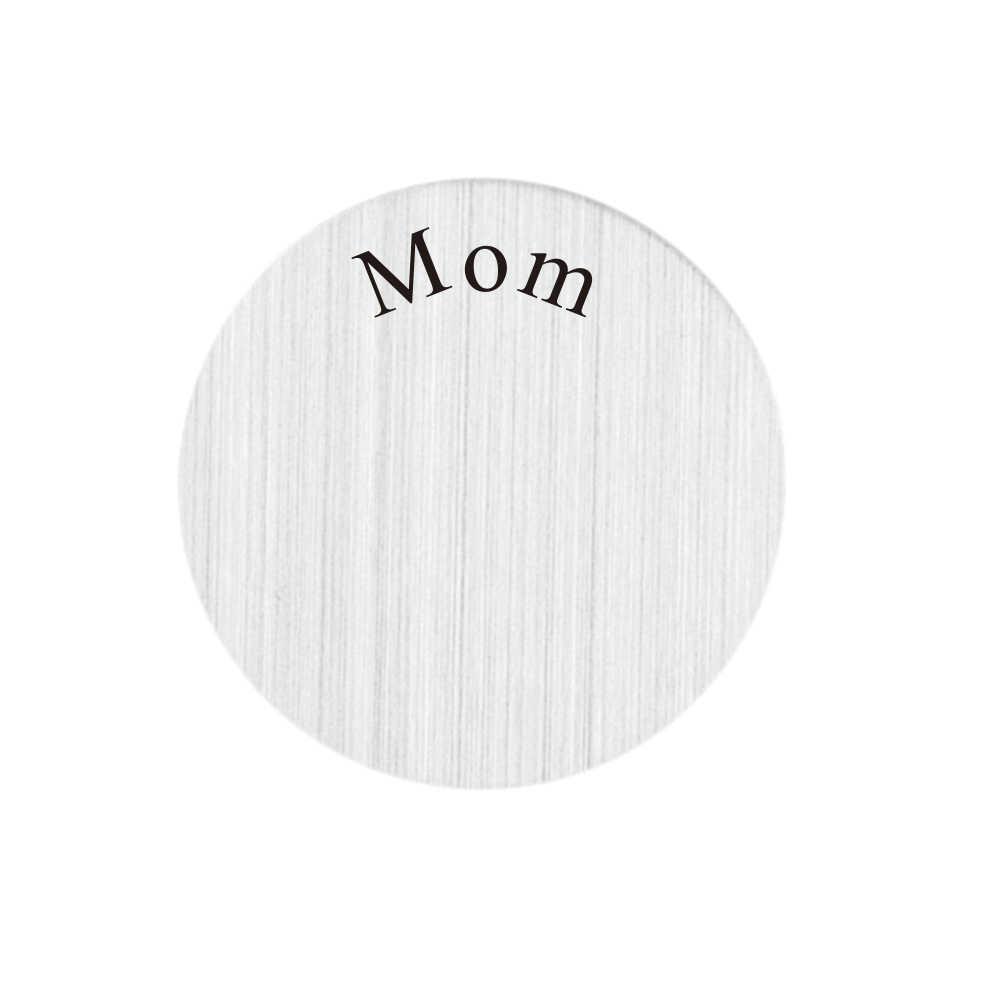 22 мм мама Pattern Нержавеющаясталь плавающий окна пластины для 30 мм Жилая медальон 10 шт.