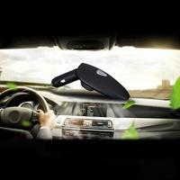 2018 HEIßER VERKAUF Mini Auto Auto Frische Luft-ionisator Sauerstoff-bar Lufterfrischer + Dual Usb-ladeanschluss Vicky