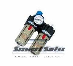 BFC-3000 Air Filter Regulator Lubricator Combination BFR3000 1pcs bfc 3000 bsp 3 8 air filter regulator lubricator combinations brand new