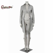Cosplaydiy Legends Of Tomorrow White Canary Sara Lance Adult Women Cosplay Costume For Halloween Carnival Outfit