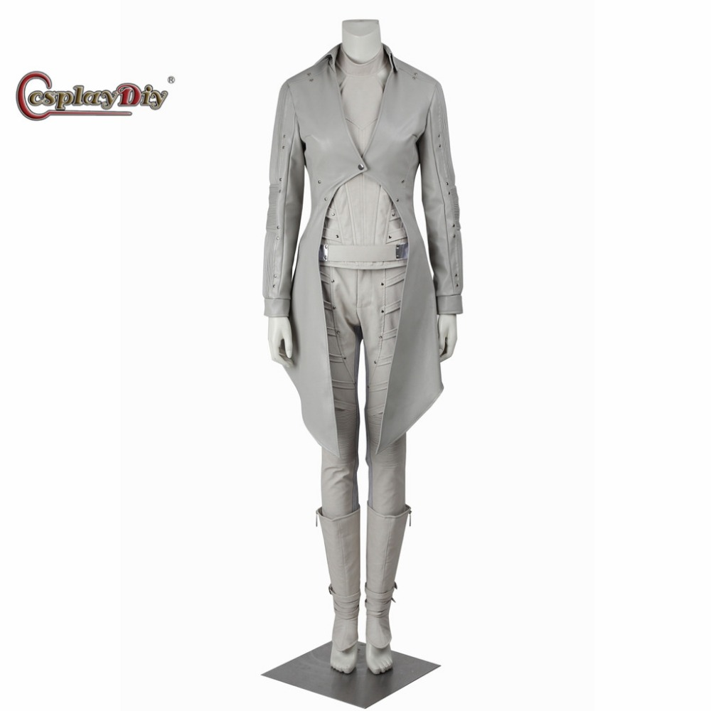 Cosplaydiy Legends Of Tomorrow White Canary Sara Lance Adult font b Women b font Cosplay Costume