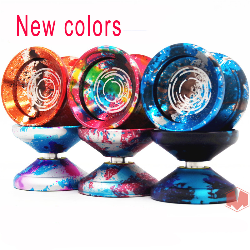 New arrive YoYo Factory ALIYO yo-yo 11 different colors professional sports yo - yo Metal ball best gift for Christmas day new arrive yoyo factory aliyo yo yo 11 different colors professional sports yo yo metal ball best gift for christmas day