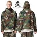 Mais recente Inverno NEVOEIRO Oversize Temor de Deus Casacos Das Mulheres Dos Homens camuflagem calças de brim jaquetas da marca high street clothing temor de deus jaqueta