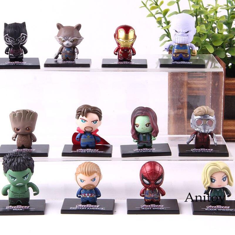 font-b-marvel-b-font-avengers-action-figure-ironman-spiderman-captain-america-thanos-doctor-strange-pvc-collection-model-toy-12pcs-set