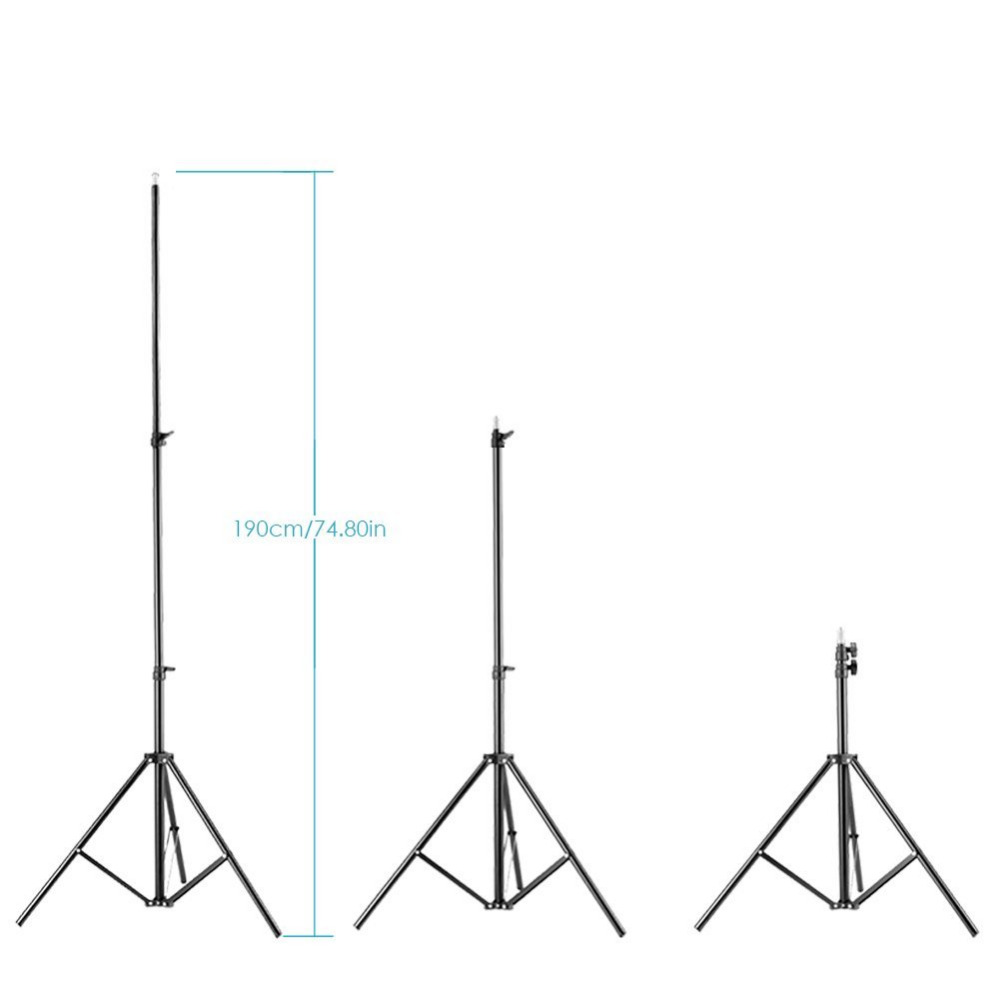 "Neewer 75""/190CM Photography Studio Adjustable Light Umbrella Stands For Relfectors/Softboxes/Lights/Backgrounds/Flash Tripod"
