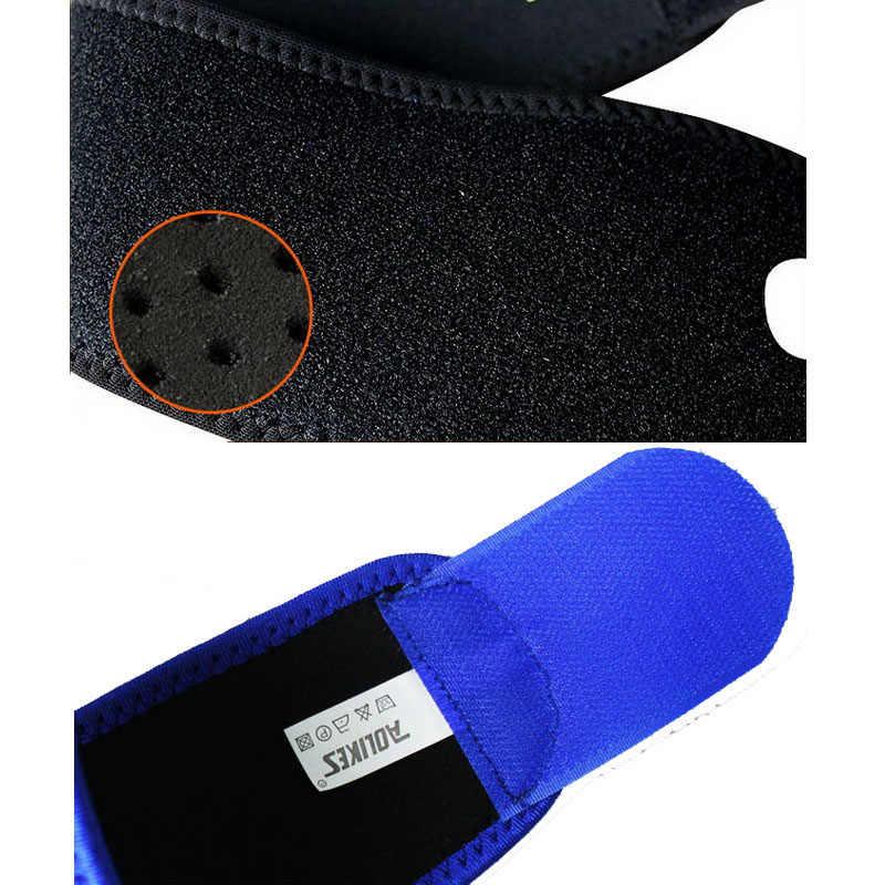 2 шт./партия AOLIKES тренажерный зал наручные полосы спортивный браслет поддержка запястья ремни обертывания для тяжелой атлетики munhequeira протектор