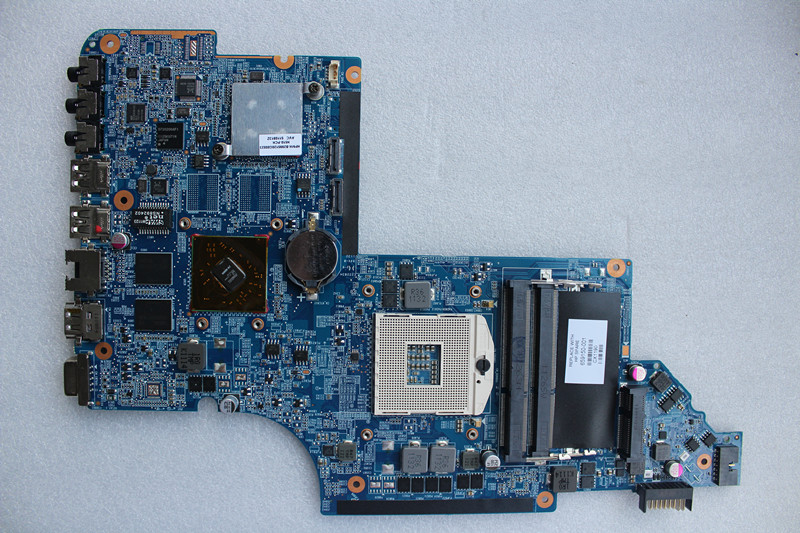 ФОТО Original new laptop motherboard for HP DV6 6000 DV6-6000 659150-001 HM65 DDR3 mainboard 100% tested All features normal