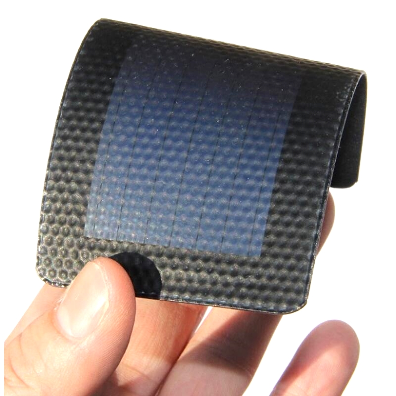 0.3W 1.5V Flexible Solar Cell Very Slim Amorphous Silicon Solar Panel Waterproof DIY Solar Toy Education Kits Free Shipping