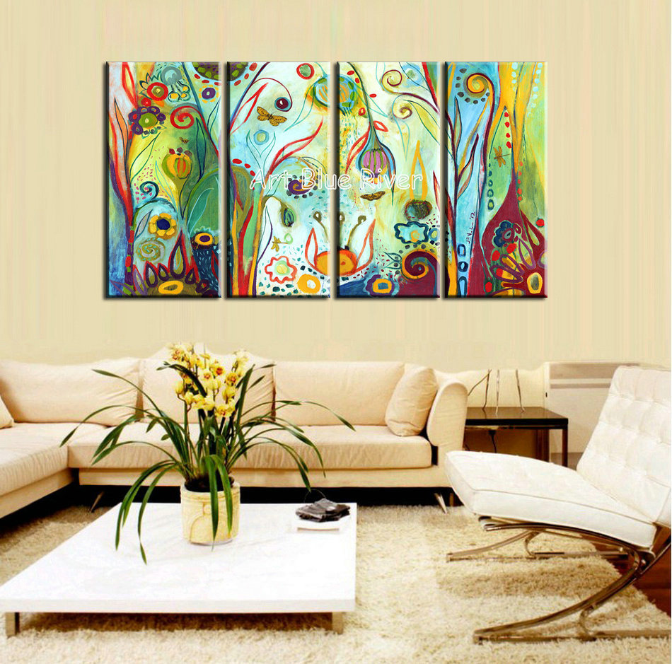 great paintings for living room popular flower paintings buy cheap flower 23883