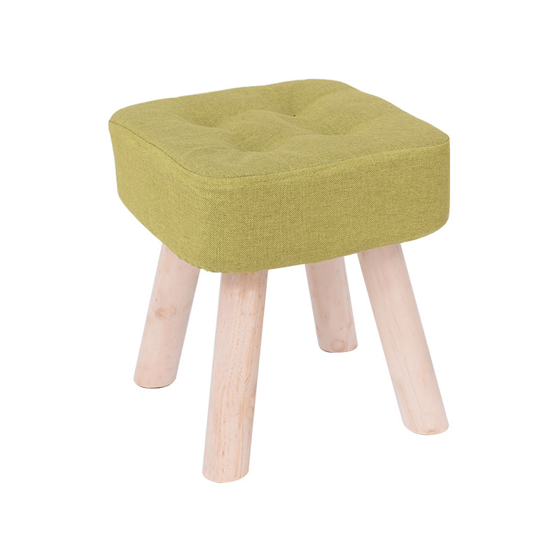 wooden Fashion Family sitting Room sofa stool bench Creative small kids bench silla para maquillaje wood chair