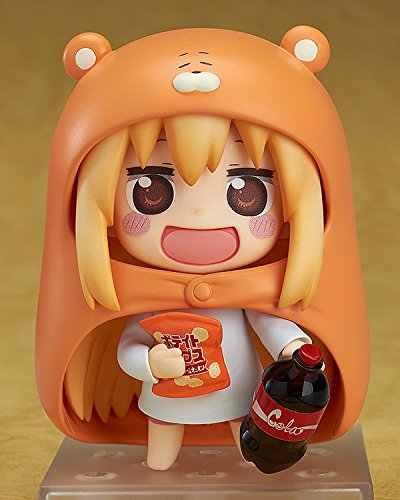 """Горячие Good Smile Nendoroid 524 # манга комиксов аниме Himouto Умару Чан супер мило 4 """"фигурку"""