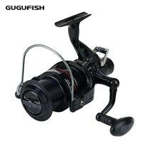 GUGUFISH Front/Rear Brake Reel Fishing Wheel 10+1BB Ball Bearing 5.2:1 Metal Spool Carp Reel Fishing Tackle Accessories
