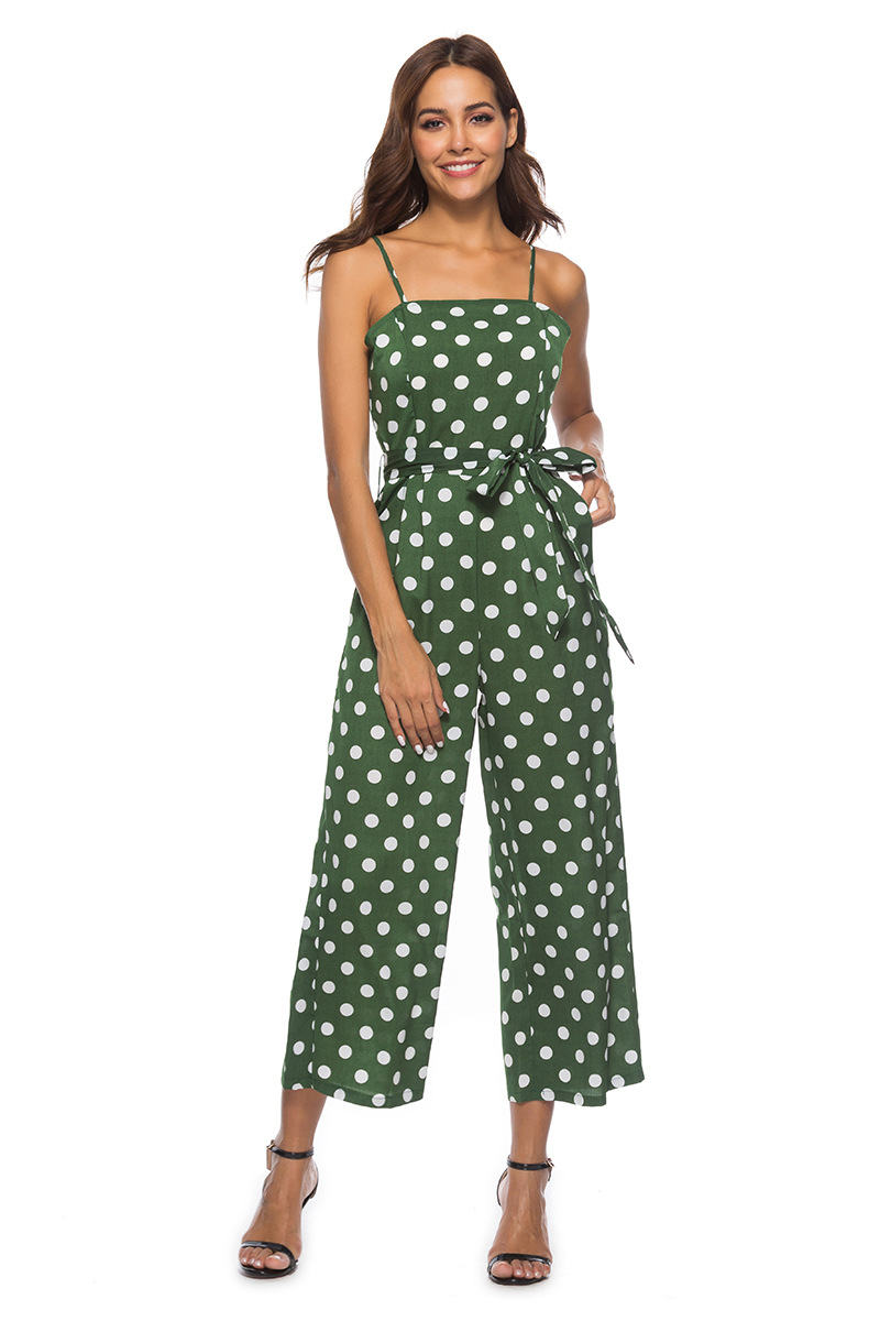 HTB11WsYbfjsK1Rjy1Xaq6zispXaI - Women Rompers summer long pants elegant strap woman jumpsuits polka dot plus size jumpsuit off shoulder overalls for womens